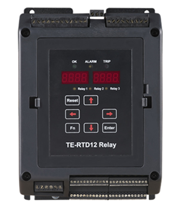 TE-RTD12 Motor RTD Monitor/Relay Device
